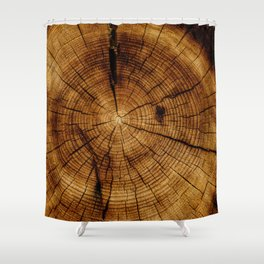 Inside the Tree (Color) Shower Curtain
