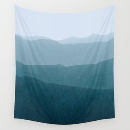 gradient landscape Wall Tapestry