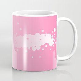 Abstract Pink Background Coffee Mug