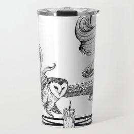Mystic Owl Travel Mug