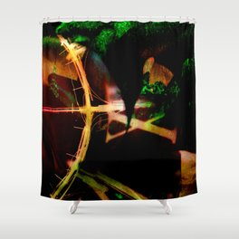 Arc of Time Shower Curtain