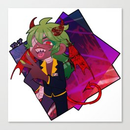 ..Or your devil Canvas Print