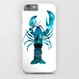Blue Lobster iPhone Case