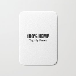 100 % Hemp by Tegridy Farms. Made with Colorado Tegridy. Bath Mat