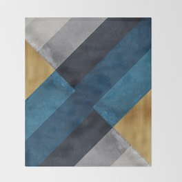Scandinavian Nordic Style Throw Blanket