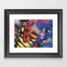 ButterFlys Framed Art Print