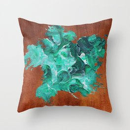United States of Dollars and Cents. Throw Pillow