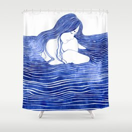 Nereid XXI Shower Curtain