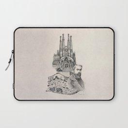 Tribute to Gaudi Laptop Sleeve