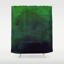 Watercolor (Witch's Blood) Shower Curtain