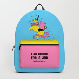 Job And Unicorn Backpack