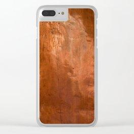 copper Clear iPhone Case