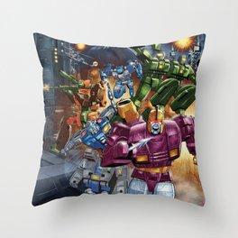 Wreck n Rule! Throw Pillow