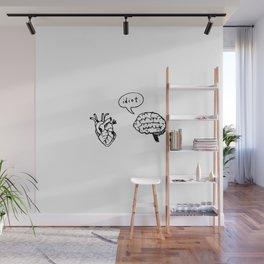 Idiot. Wall Mural