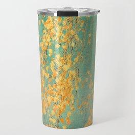 yellow leaves Travel Mug