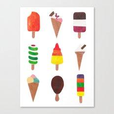 Ice Cream! Canvas Print