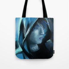 Blue Serenity Tote Bag