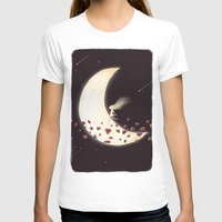 lunar T-shirts featuring Lunar Child by Annisa Tiara Utami