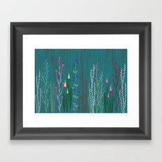 Mystical garden Framed Art Print