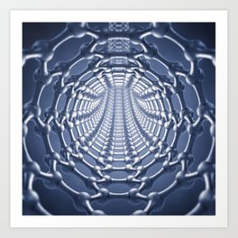 Nanotechnology Art Print