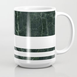 Dark Green Marble Coffee Mug