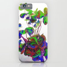 Cut clovers, databending/vector painting/dream smoothing rendition. Slim Case iPhone 6s