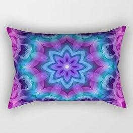 Floral Abstract G269 Rectangular Pillow