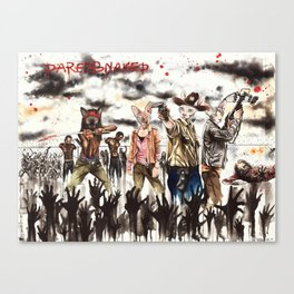 The Walking dead Sphynx Canvas Print