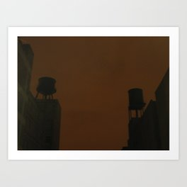 Two Tanks Art Print