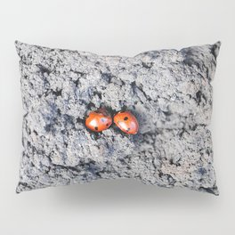 Lady and Gentleman Bug Pillow Sham