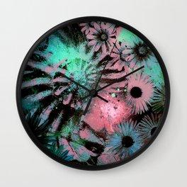Ammonite Fossil Lagoon Wall Clock
