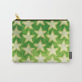 Star Fruit Paint pattern Carry-All Pouch