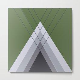 Iglu Kale Metal Print