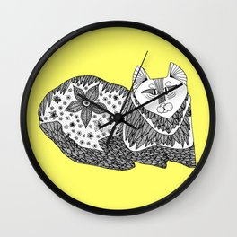 Love Cats Wall Clock