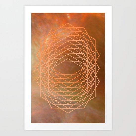 Geometrical 005 Art Print
