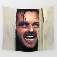 fear Wall Tapestries featuring Fear. by Emiliano Morciano (Ateyo)