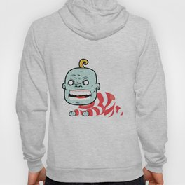Zombaby decomposition face two Hoody