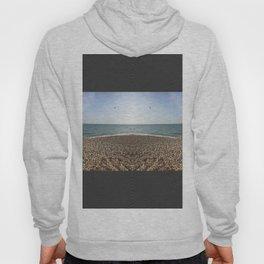 Mirrored beach photo Hoody