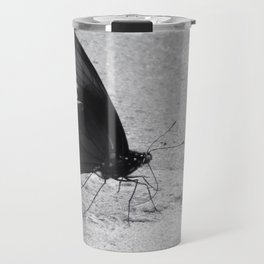 Black Butterfly Travel Mug