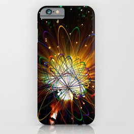 Magical Light and Energy 3 iPhone Case