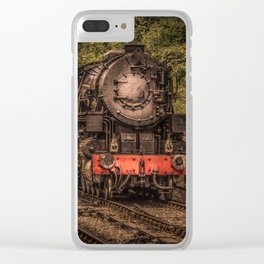 Express Train to Whitby Clear iPhone Case