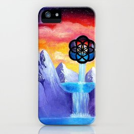 The Seed Of Life iPhone Case
