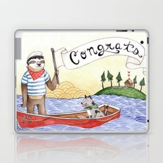 Sloth Congrats Laptop & iPad Skin