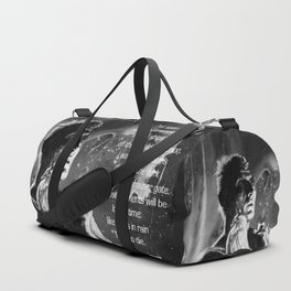 Like tears in rain - black - quote Duffle Bag