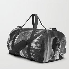 Like tears in rain - black - quote Duffle Bag