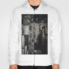 Yellow Cab from Above - Original #society6 exclusive Hoody