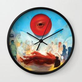 Wavering as She Wakes Wall Clock