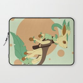 Leaf Steampunk Fox Laptop Sleeve