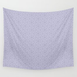 Going Round and Round - Violet Wall Tapestry