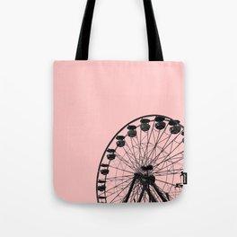 Ferris Wheel (Pink) Tote Bag